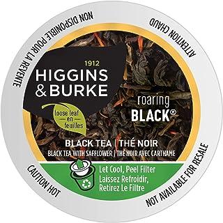 Higgins & Burke Roaring Black, Loose Leaf Black Tea, Keurig K-Cup Brewer Compatible Pods, 24 Count