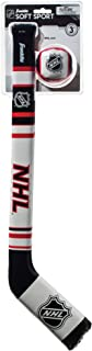 Franklin Sports Kids Knee Hockey Stick & Ball Set - NHL - Soft Sport
