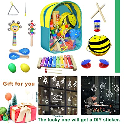 CACA Musical Instrument Set Kids Gift Toys Incl...
