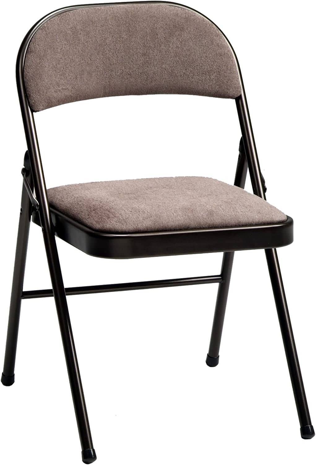 Amazon Com Meco 4 Pack Deluxe Fabric Padded Folding Chair Cinnabar Frame And Corrin Fabric Seat And Back Furniture Decor