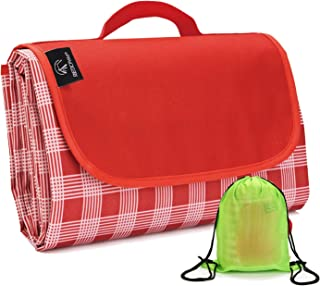 REDCAMP XXL Waterproof Picnic Blanket Extra Large - 79