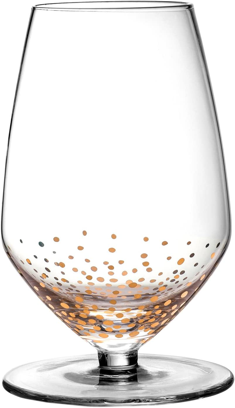 Fitz and Floyd Luster Gold Wine New arrival Rapid rise Glasses