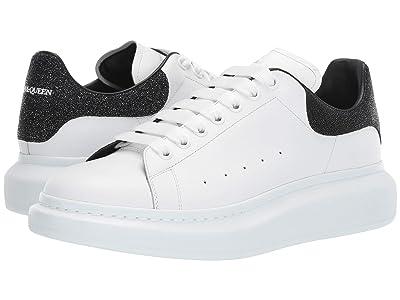 Alexander McQueen Oversized Galaxy Glitter Sneaker (White/Galaxy) Men