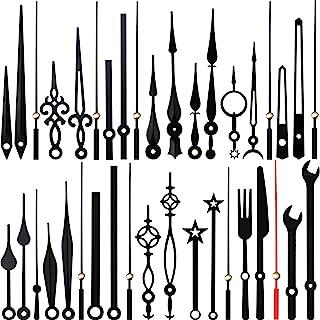 14 Styles Mécanisme de Mouvement d'Horloge, Mains sans Coutil, Aiguilles d'Horloge en Aluminium, Remplacement de Pièces de...