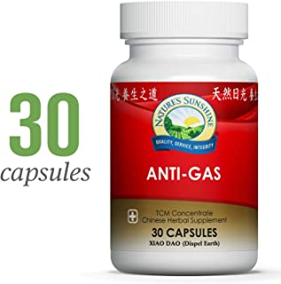 Nature's Sunshine Anti-Gas, Chinese TCM Concentrate, 30 Capsules | Chinese Herbs Combination That Aid in Digestion and Assist in Detoxification
