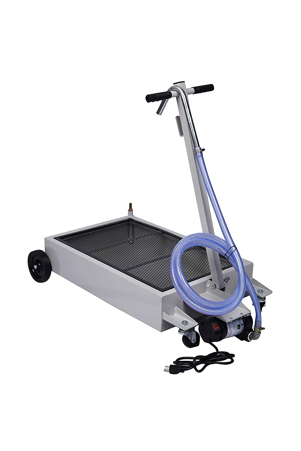SSLine Portable 15 Gallon Oil Drain with Pan P Indefinitely Electric Low Pump Sale Special Price