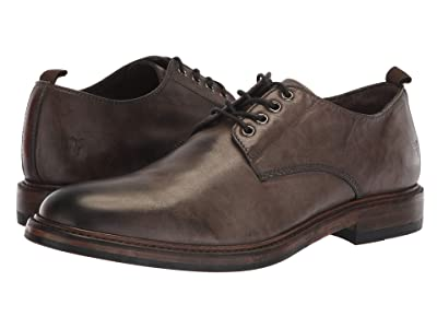 Frye Murray Oxford (Grey Washed Dip-Dye Leather) Men