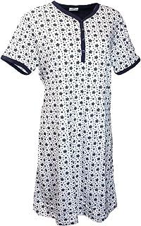 4c92eab047 Buccia di Mela Camicia da Notte Donna Mezza Manica Misure comode  calibrate10995