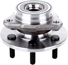 ECCPP Wheel Hub and Bearing Assembly Front 515007 fit 1997-2004 Dodge Dakota Durango 4WD Replacement for 6 lugs wheel hub no ABS 3 Bolt Flange