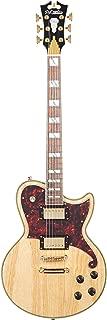 D'Angelico Deluxe Atlantic Electric Guitar - Natural Swamp Ash