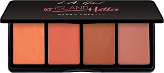 L.A. Girl Fanatic Blush Palette, Island Hottie Corals, 1 oz