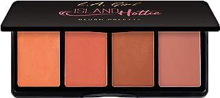 L.A. Girl Fanatic Blush Palette, Island Hottie Corals, 16 g