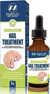 Natural Anti Fungal Nail Treatment Extra Strength Liquid Drops – Homeopathic Healing Herbal Fungus Killer for Toenails, At...