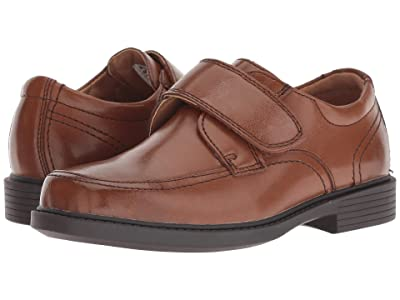 Florsheim Kids Berwyn Jr. II (Toddler/Little Kid/Big Kid) (Cognac Smooth Leather) Boy