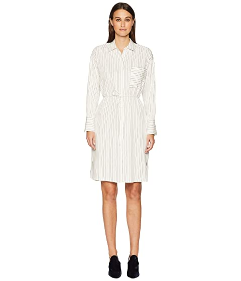 Vince Bar Stripe Shirtdress