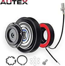 AUTEX AC A/C Compressor Clutch Coil Assembly Kit 88320-02120 447220-4351 447220-4350 Replacement for Toyota Corolla 2003 2004 2005 2006 2007 2008/Toyota Matrix 2003 2004 2005 2006 2007 1.8L