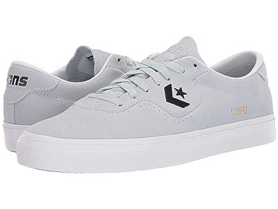 Converse Skate Louie Lopez Pro Rubber Backed Suede Ox (Polar Blue/Black/White) Men