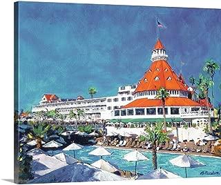 Gallery-Wrapped Canvas Entitled Poolside at Hotel Del Coronado by Randy Riccoboni 14