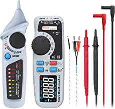 BSIDE Electrical Test Kit, Color Display True-RMS Digital Multimeter and Dual Mode Non-Contact Voltage Detector Circuit Te...
