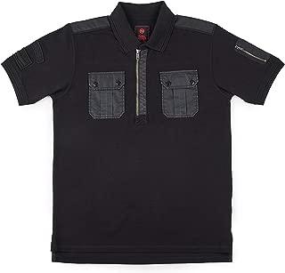 Royal Enfield Black Cotton T-Shirt for Men Size (3XL) 48 CM (RLATSH000324)