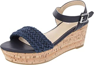 Nautica Women's Birnbach Platform Wedge Sandals Summer Shoes with Buckle