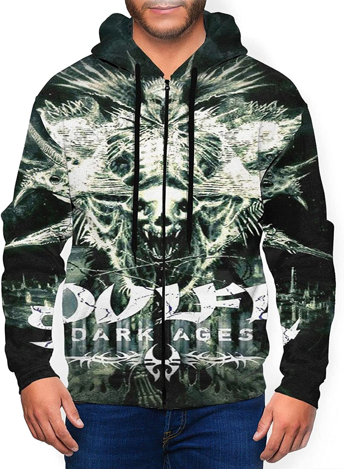 Soulfly Men'S Free Shipping New Hooded Zipper Shirt Max 70% OFF Jacket Classic Coat Casual