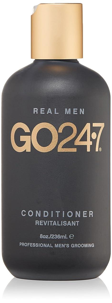 ペルセウス不愉快に本能GO247 Real Men Conditioner, 8 Fluid Ounce by On The Go