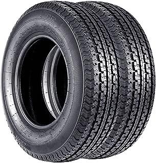 VANACC 205 75 14 Trailer Tires ST Radial Tire 205/75R14 Load Range D 105M 8PR Set of 2