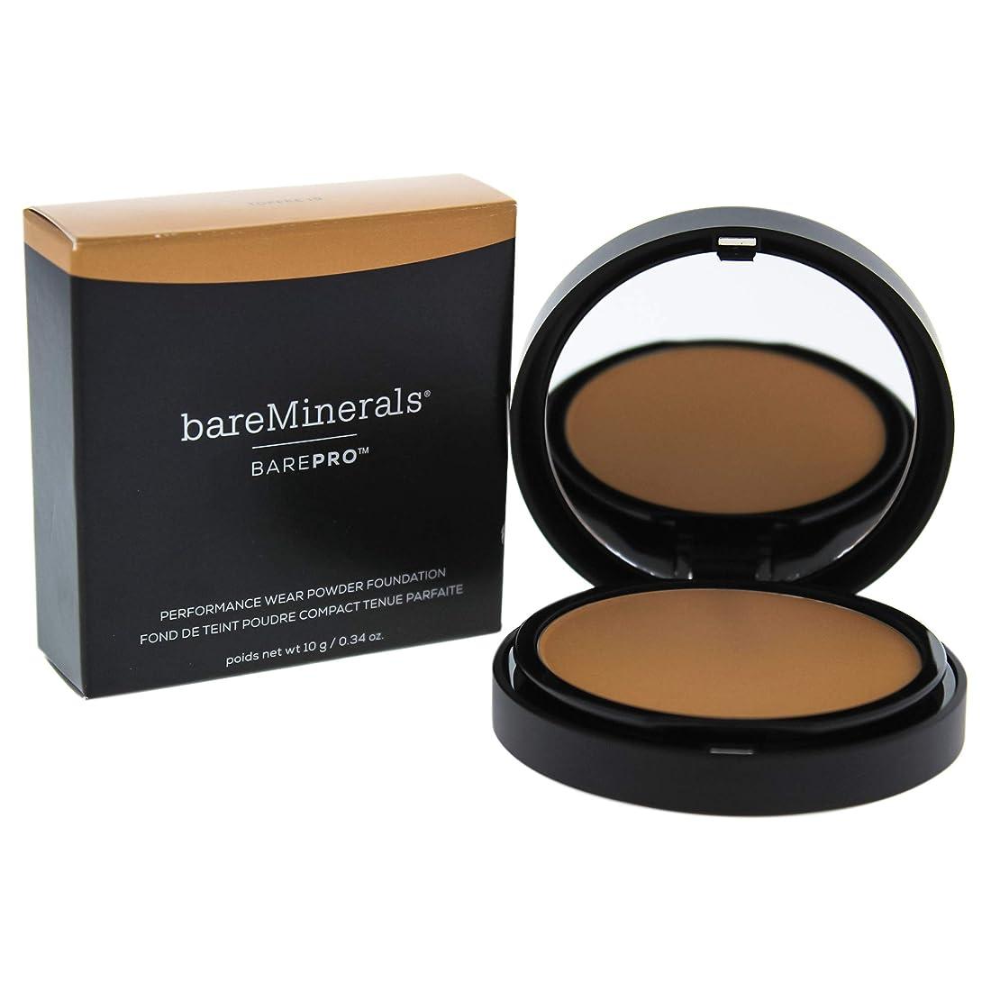 チャットミルコンセンサスベアミネラル BarePro Performance Wear Powder Foundation - # 19 Toffee 10g/0.34oz並行輸入品
