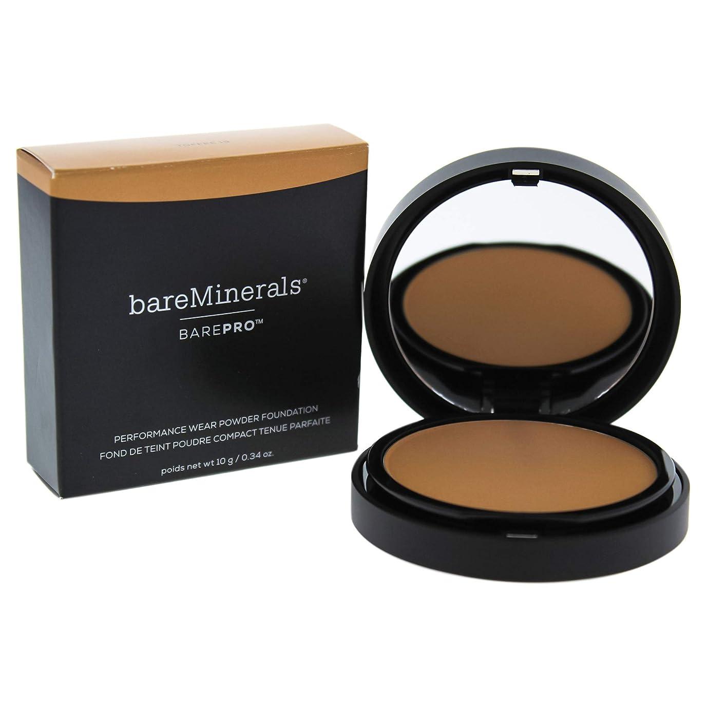 決済漏れ通知ベアミネラル BarePro Performance Wear Powder Foundation - # 19 Toffee 10g/0.34oz並行輸入品