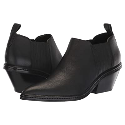 Via Spiga Farly Water-Resistant (Black Weather Resistant Leather) Women