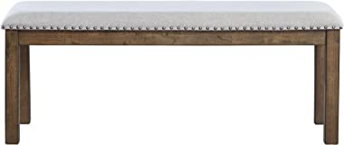 Signature Design by Ashley Moriville Dining Room Bench, Beige