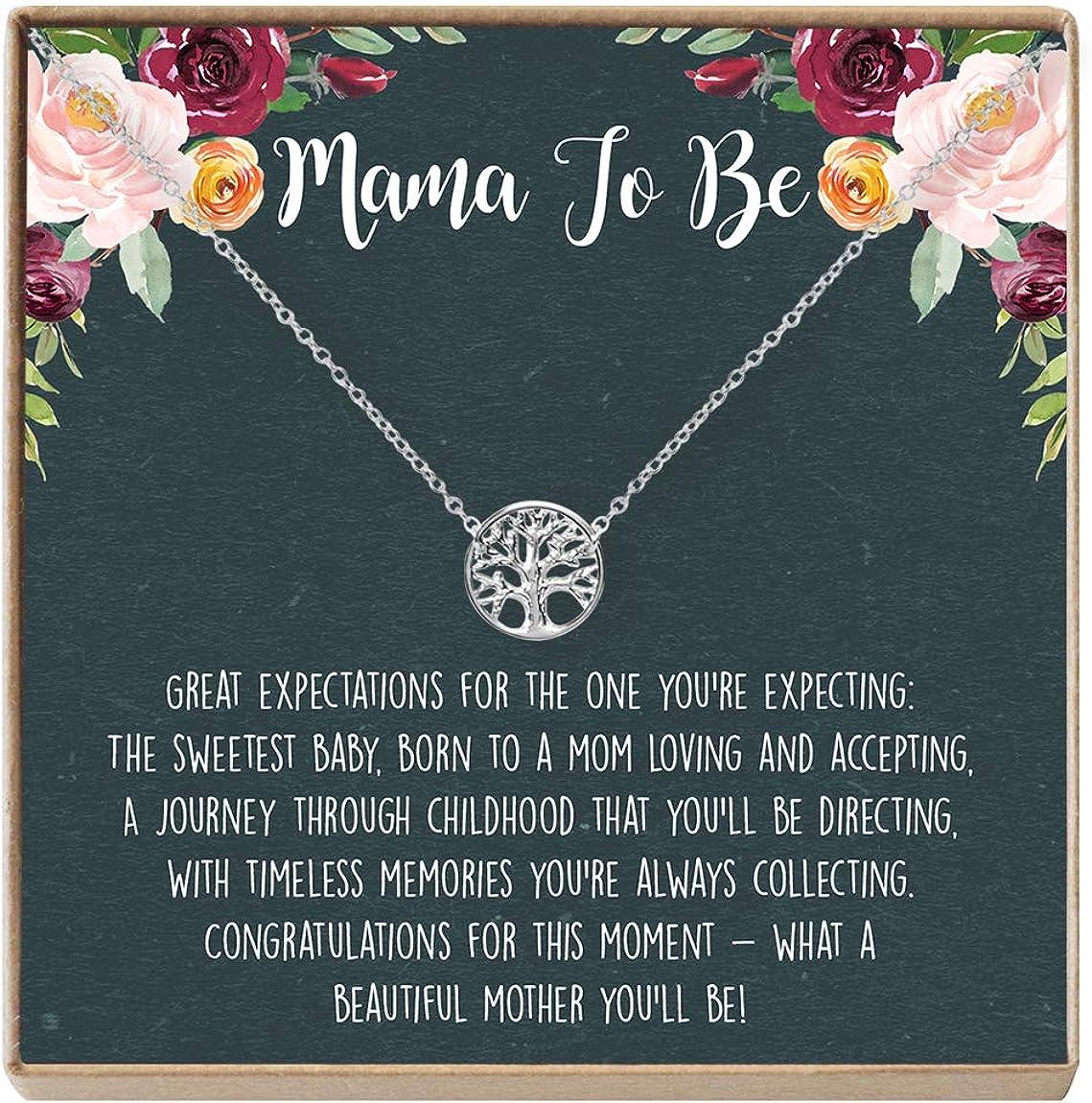 Pregnancy Necklace - Presents Gift Ideas Heartfelt 未使用 出群 Jewe Card
