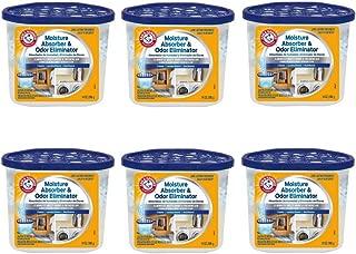 Arm & Hammer FGAH14 14 Moisture Absorber & Max Odor Eliminator Tub, 14 oz (6 pack)