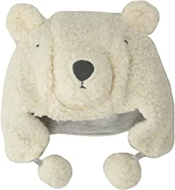 Plush Sherpa Bear Hat (Infant)