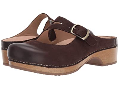 Dansko Britney (Chocolate Burnished Nubuck) Women