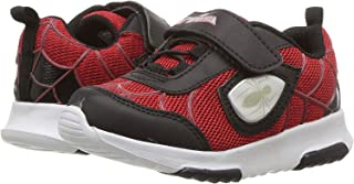 Spiderman Athletic Shoes With Premium Lights (Toddler/Little Kid) Red/Black