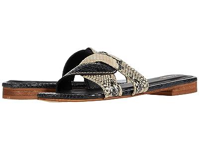 KAANAS Santorini Snake Infinity Sandal (Snake) Women