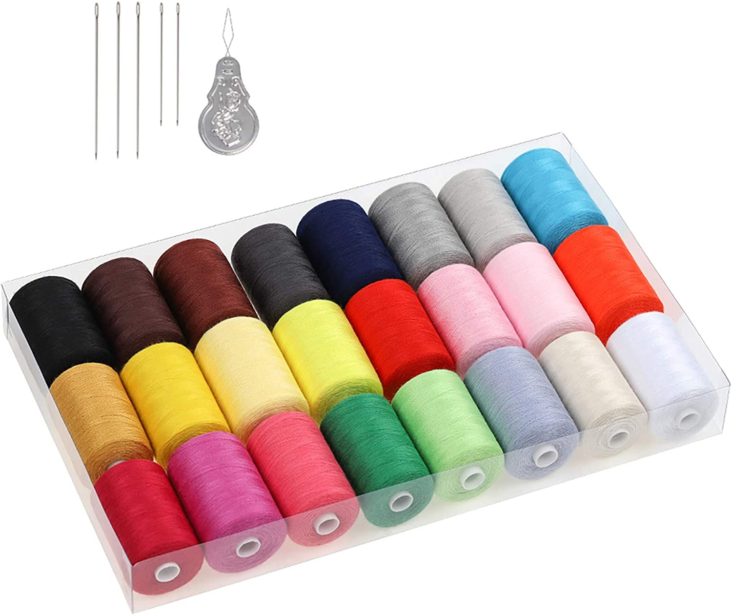 Sewing Kit with 24 Thread Spools Machine Max 45% OFF Supplies Special Campaign