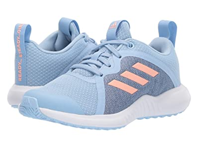adidas Kids FortaRun X (Little Kid/Big Kid) (Blue/Pink/White) Girls Shoes
