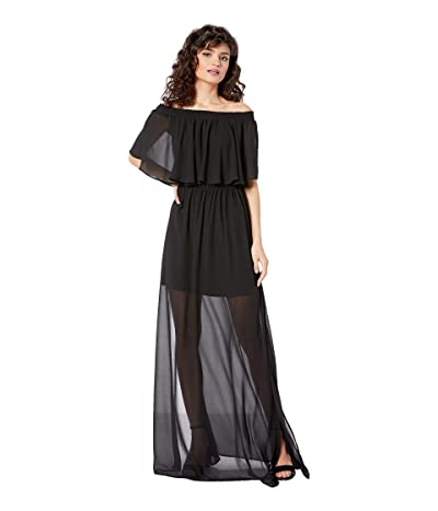 Show Me Your Mumu Hacienda Dress (Black Chiffon) Women