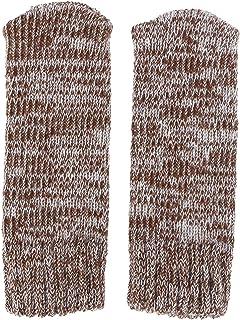 VOSAREA Stoelsokken, antislip, elastisch, gebreid, voor meubels, sokken, stoelpootbeschermers, afdekking, set, bruin, 12 s...