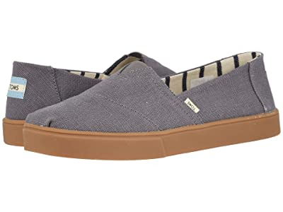 TOMS Alpargata Cupsole (Shade Grey Heritage Canvas Cupsole) Men