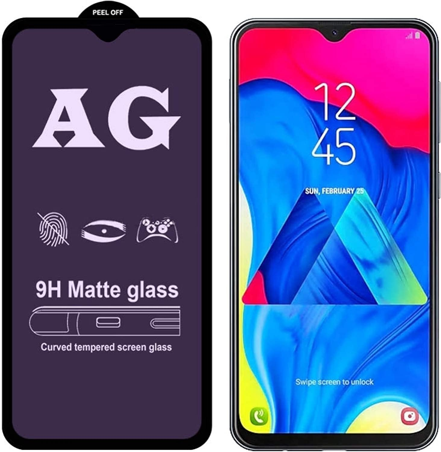 Eryanone Mobile excellence Phone Screen Protectors Blue Max 72% OFF AG Matte Anti Light