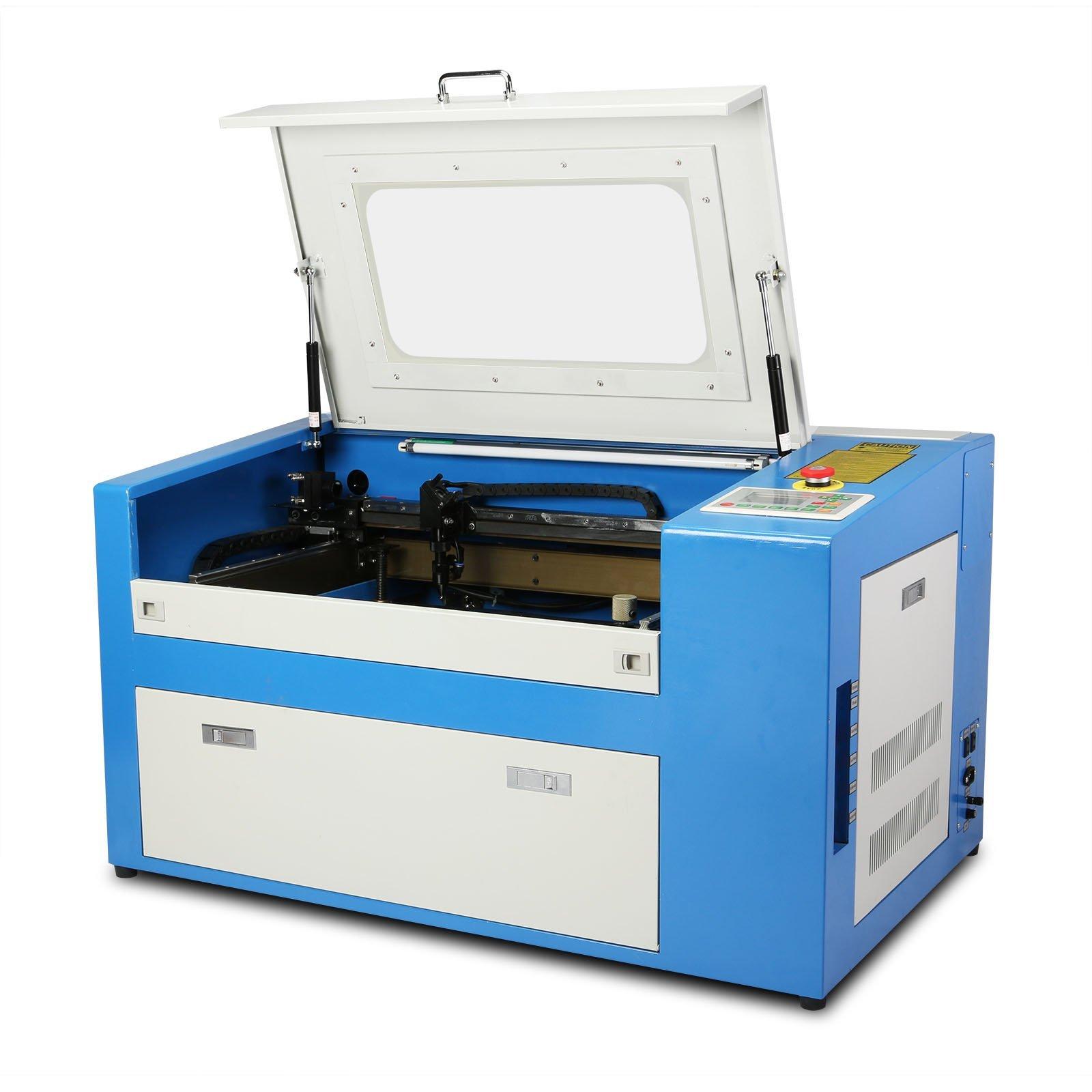 VEVOR Máquina de Grabado Láser Co2 Laser de Corte de Máquina Laser Engraving Machine 50W de Alta Precisión Ofrece Unos Grabados Más Precisos (50W): Amazon.es: Bricolaje y herramientas