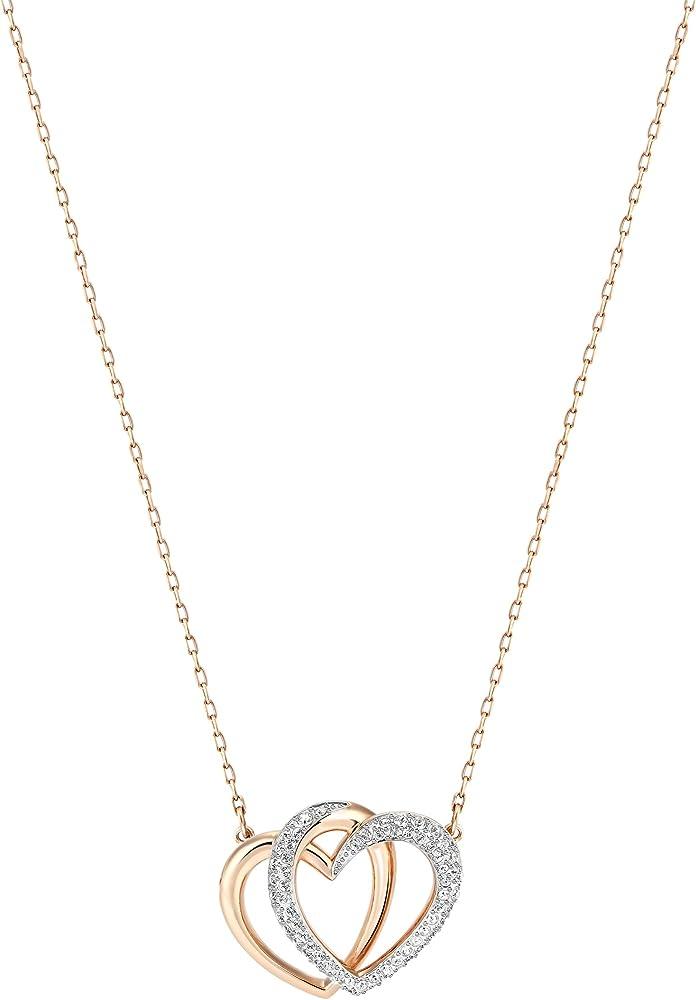 Swarovski collana dear per donna , placcata oro rosa 5194826