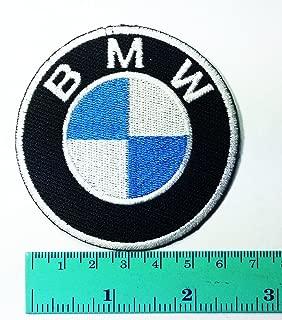 BMW Motorcycles Motorrad Biker Jacket Shirt T-shirt Patch Sew Iron on Logo Embroidered Badge Sign Emblem Costume