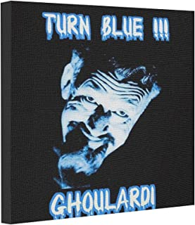 Dobend Gallery Wrapped Canvas Ghoulardi Turn Blue Customizable te Art Canvases