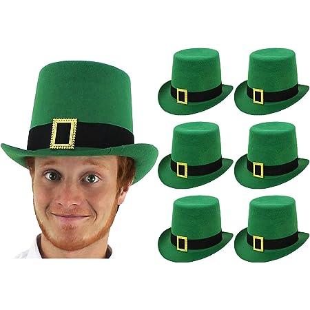 Irish Trilby Hat with Buckle St Patrick/'s Day Irish Fancy Dress Irish Supporter