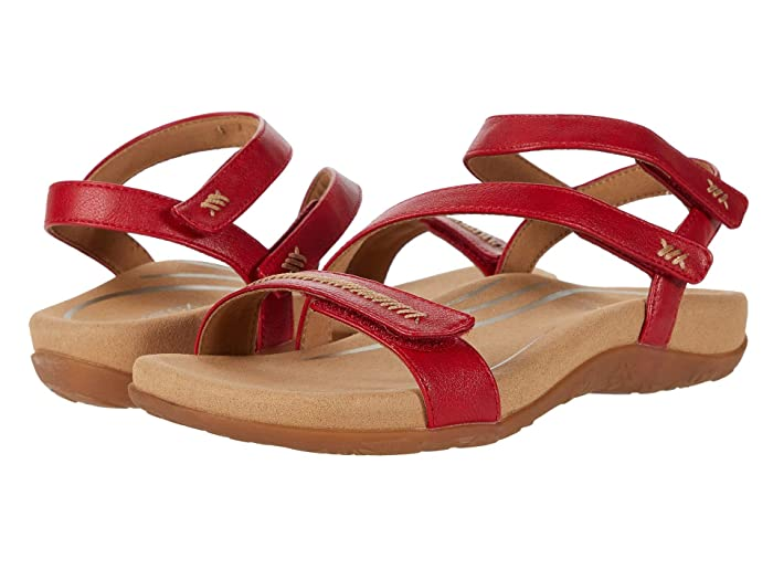 Aetrex  Gabby (Red) Womens Sandals